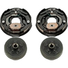 545CONV Idler Axle To Electric Brake Conversion Kit 5 On 4.5""