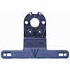 440-09 Plastic Trailer License Plate Bracket