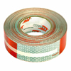 "5649KC Oralite Conspicuity Tape 6"" Red X 6"" White"