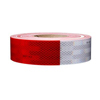 "67636 3M Conspicuity Tape 11"" Red X 7"" White Kisscut"