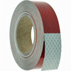 "913-326KC 3M Conspicuity Tape 6"" Red X 6"" White Kisscut"