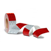 "913-32KC 3M Conspicuity Tape 11"" Red X 7"" White Kisscut"