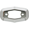 A13C2B Marker Clearance Light Chrome Bezel