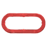 "A78RXB 6"" Oval Trailer Light Red Reflex Trim Ring"