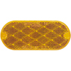 Peterson B480A Trailer Amber Oblong Reflector