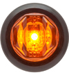 "LT02-235 Trailer Marker Clearance Light 3/4"" Round Amber"
