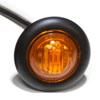 "M181A Trailer Marker Clearance Light 3/4"" Round Amber Standard"
