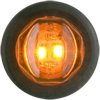 "MCL-11AKB Marker Clearance Light 3/4"" Round Amber Standard"