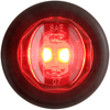 "MCL-11RKB Trailer Marker Clearance Light 3/4"" Round Red Standard"