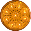 "MCL-50AB Marker Clearance Light Only 2"" Round Amber Micro-Flex"