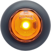MCL10AKB Trailer Marker Clearance Light 3/4 Round Amber Standard