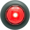 "MCL10RKB Trailer Marker Clearance Light 3/4"" Round Red Standard"