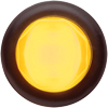 "MCL111AKB Marker Clearance Light 3/4"" Round Amber Glolight"