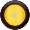 "MCL112AKB Marker Clearance Light 3/4"" Round Amber Glolight"