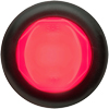 "MCL112RKB Trailer Marker Clearance Light 3/4"" Round Red Glolight"