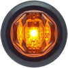 "MCL12AKB Marker Clearance Light 3/4"" Round Amber Standard"
