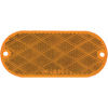 RE-11AB Trailer Amber Oblong Reflector
