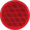 "RE21RB Trailer Red 3"" Round Reflector Adhesive Mount"