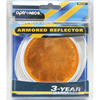 RE31AS Trailer Speciality Reflector Amber Round With Oval Base
