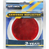 RE31RS Trailer Speciality Reflector Red Round With Oval Base