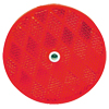 "RE35RB Trailer Red 2"" Round Reflector Screw Mount"