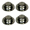 "5/8"" Boat Trailer Roller Shaft Nut HW06-010 Pkgd"