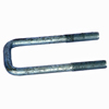 "2 1/16"" x 5.81"" Galvanized Square U-bolt UBGC12X206X581"