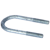 "176400LN-G Galvanized Suspension U-Bolt Only 2 3/8'' X 5.38"" Rnd"