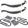 "2-1403T3 Spring Kit With U-Bolts 24"" 7 Leaf Slipper Spring"