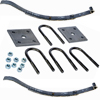 "2-WIE2 Spring Kit With U-Bolts 23 1/8"" 2 Leaf Slipper Spring"
