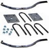 "2-WID2 Spring Kit With U-Bolts 27 3/8"" 2 Leaf Slipper Spring"