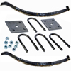 "2-WIE3 Spring Kit With U-Bolts 23 1/8"" 2 Leaf Slipper Spring"