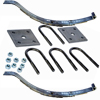 "2-WIH4 Spring Kit With U-Bolts 23 1/8"" 4 Leaf Slipper Spring"