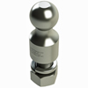 "2516-114-2 Hitch Ball 2 5/16"" 5k 2"" Rise Zinc"